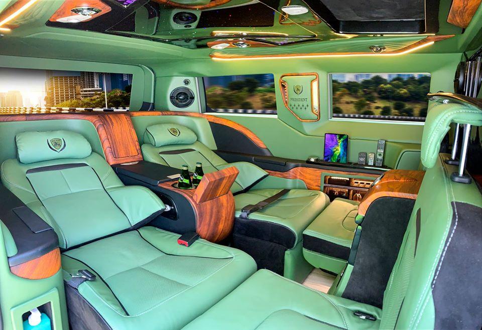 mercedes độ limousine 1